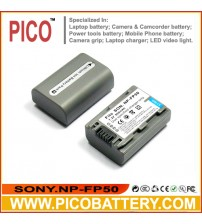 Sony NP-FP50 NP-FP51 InfoLithium P Series Li-Ion Rechargeable Camcorder Battery
