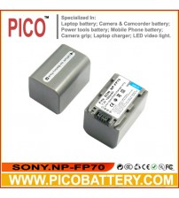 Sony NP-FP70 NP-FP71 InfoLithium P Series Li-Ion Rechargeable Camcorder Battery BY PICO