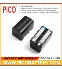 Sony NP-FS22 NP-FS21 NP-FS20 NP-F20 InfoLithium S Series Li-Ion Rechargeable Camcorder Battery BY PICO