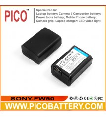 SONY NP-FW50 InfoLithium W Series Standard Li-Ion Rechargeable Battery For Sony Alpha NEX and SLT Cameras BY PICO