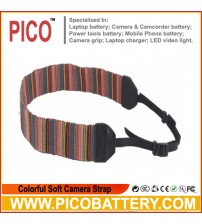 Colorful Soft Camera Strap