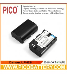 Canon LP-E6 Digital Camera Battery NEW 2900MAH FOR VIDEO BY PICO