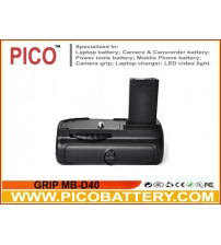 Nikon MB-D40 Equivalent Battery Grip for D40 D40x D60 D3000 Digital SLR Cameras BY PICO