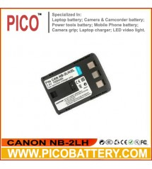 CANON NB-2LH Li-Ion Rechargeable Camcorder Battery BY PICO