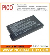 High Capacity HP Compaq Business Notebook NC8000 Mobile Worksation NW8000 Li-Ion Rechargeable Laptop Battery BY PICO