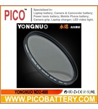 YONGNUO Slim Variable ND2-400 Filter
