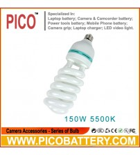 NEW PHOTOGRAPHIC EQUIPMENT 5500K bulb for Energy Saving two lamp holder 150w BY PICO