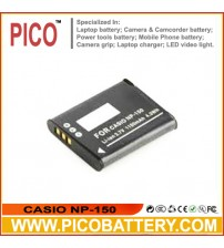 CASIO NP-150 Li-Ion Rechargeable Battery for Select Casio Exilim EX-TR10, EX-TR15, EX-TR300, and EX-TR350 Cameras BY PICO