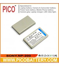 Minolta NP-200 Li-Ion Rechargeable Digital Camera Battery BY PICO