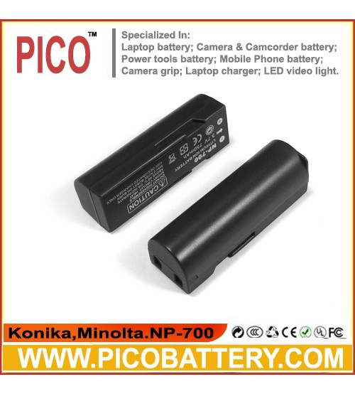 Minolta NP-700 Li-Ion Rechargeable Digital Camera Battery BY PICO