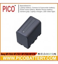 Sony NP-FS32 NP-FS31 NP-FS30 NP-F30 InfoLithium S Series Li-Ion Rechargeable Camcorder Battery BY PICO