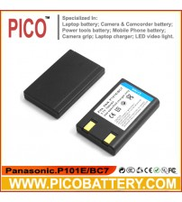 Panasonic CGA-S101A/1B DMW-BC7 Li-Ion Rechargeable Digital Camera Battery for DMC-F7 BY PICO