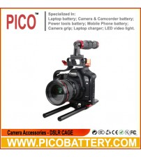 Pro camera cage video cage camera handle cage for Canon 5D II III BY PICO