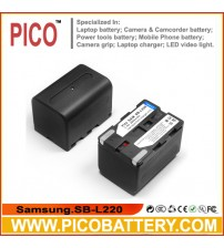 Samsung SB-L220 Li-Ion Rechargeable Camcorder Battery BY PICO