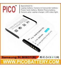 Samsung SLB-0837B SLB-0837(B) Li-Ion Rechargeable Digital Camera Battery BY PICO