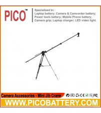 New arrival pro video camera mini jib crane PJ 200 with counter weight for camera BY PICO