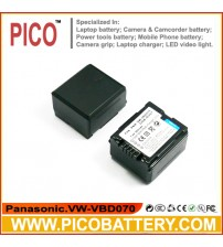 Panasonic CGA-DU21A/1B CGA-DU06A/1B VW-VBD070 Li-Ion Rechargeable Camcorder Battery BY PICO