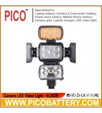 VL002B Universal On-Camera LED Video Light BY PICO