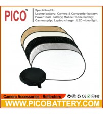photography 5-in-1 collapsible Multi Oval disc Light reflector 60*90cm BY PICO